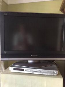 Télé Panasonic/ lecteur DVD