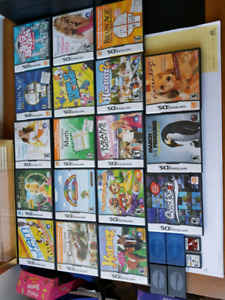 20 Nintendo DS Games!