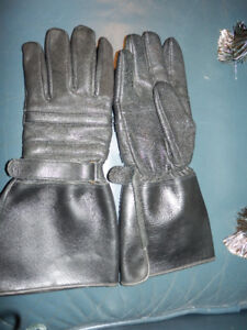 NEW UNISEX LEATHER MOTORCYCLE GLOVES