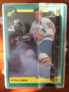 Classic Hockey Card Draft Set with Eric Linnros - sealed