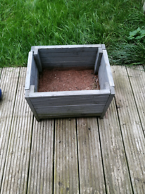 For sale 2 teal decking boxes can be varnish or painted a gain you can