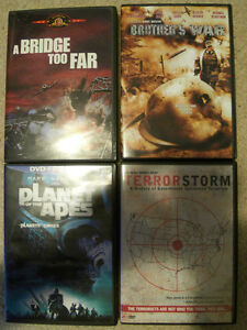 Planet of The Apes and some War DVD's