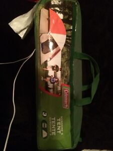 Tente Coleman 3 places camping tent