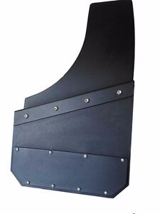 Universal Black Mud Flaps- powder coated  marine aluminum Regina Regina Area image 7