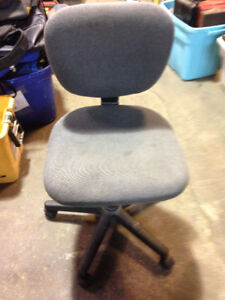 Office Chair on wheels, very comfortable, excellent condition $5