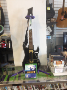 """sold""  XBox One - Guitar Hero Live w guitar"