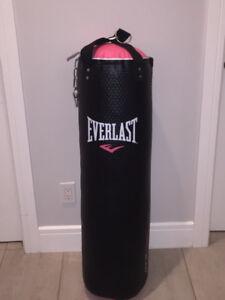 Pink & Black Everlast Cardio Punch Bag $45. Great Christmas gift