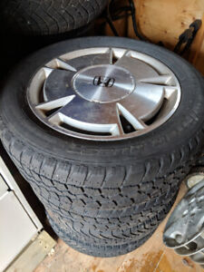 Honda civic rims and tires 195. 60. 15 x 5 Bolt