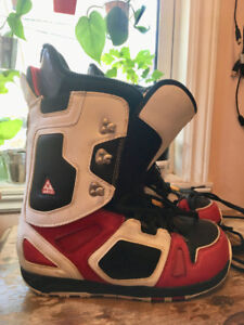 Burton snow board boots, U.S. size 12, Used only once