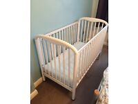 Cosatto White vintage looking cot