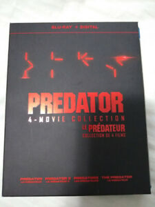 Predator Movie Box Set (All 4 Films) Blu-ray