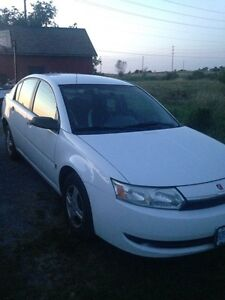 2004 Saturn Ion + Winter tires