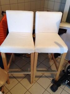 Two IKEA high chairs / Chaise (2)