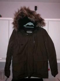 New parka style coat small half price