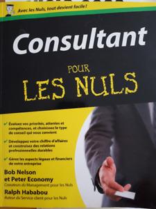 Consultants pour les Nuls (French) Paperback – Apr 9 2012