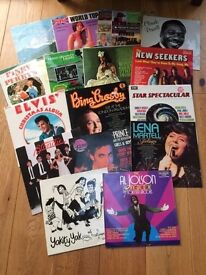 16 Vinyl Records from the 1970's