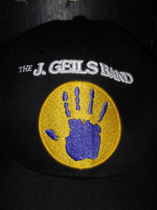 Extremely rare pit crew J Geils Band hat.