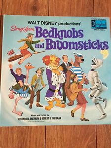 Vintage Walt Disney and Children's Vinyl Records - Lp's