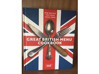 Great British menu cookbook