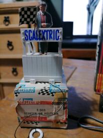 Scalextric Starter on Rostrum