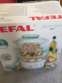 Tefal Steam Cuisine 1000 cl (new condition)