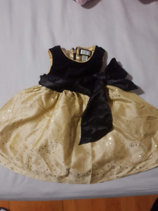 Girls 6-9 Children Place Holiday Dress no low ball