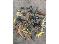 Toy dinosaurs job lot