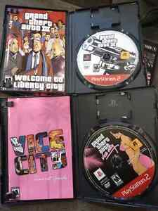 Grand Theft Auto double pack for PS2