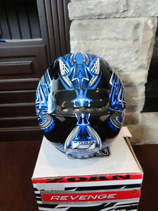 Zoan Revenge Helmet Size XS Blue w/4 Visors Included!! Brand New Kitchener / Waterloo Kitchener Area image 6