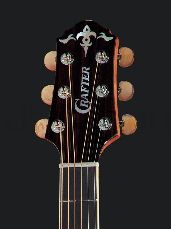 *NEW* CRAFTER 3+3 TUNERS~AMBER BUTTONS~MADE IN KOREA.
