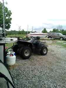 Need cash? Looking for an atv!
