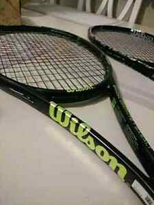 **reduced- BRAND NEW WILSON RACKETS both strung**