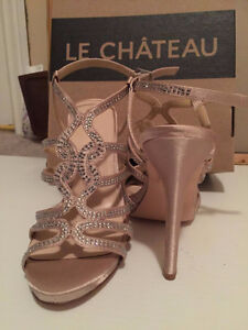 New never worn with original box le chateau shoes