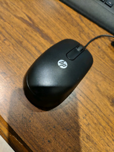 HP, Brand-new optical mouse.