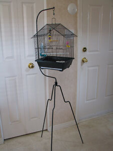 Small bird cage with hanger