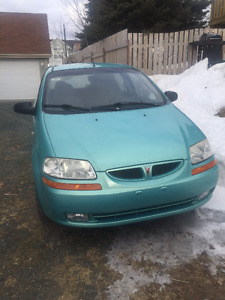 2005 Pontiac Wave Hatchback for parts