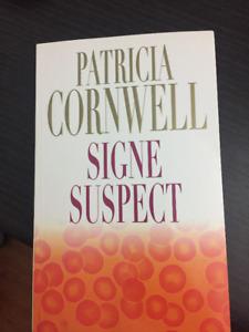 5 $ Patricia Cornwell - signe suspect