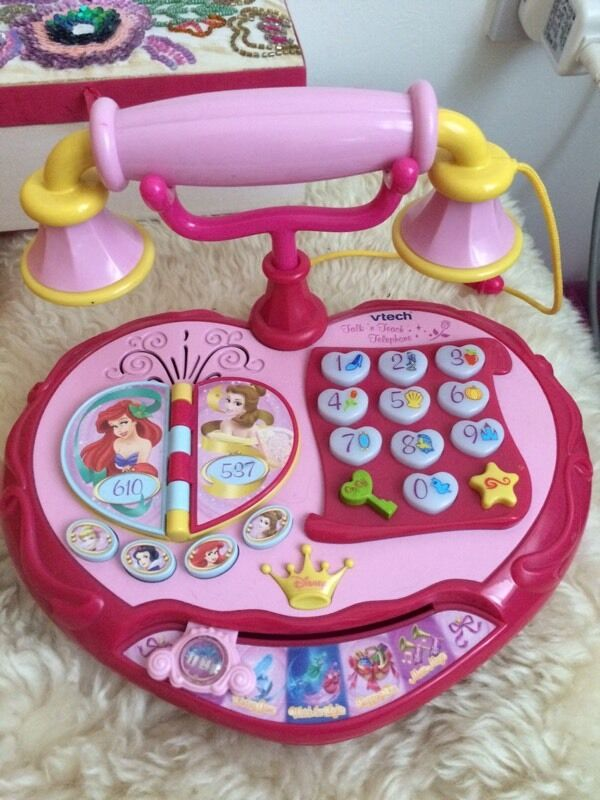 Vtech Disney princess talk and teach telephone