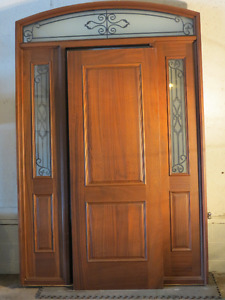 Stunning Solid Wood Door