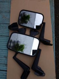 Commercial van door mirrors