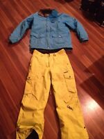 Firefly winter jacket and O'Neill snowboard pants