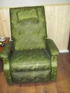 Fauteuil masseur inclinable