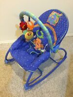 NEW CONDITION FISHER PRICE 2 IN 1 INFANT TO TODDLER ROCKER