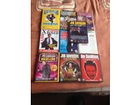 DVDs 9 stand up 1 music