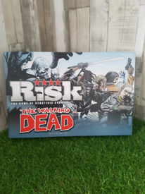 Risk The Walking Dead Survival Edition 100% Complete never used