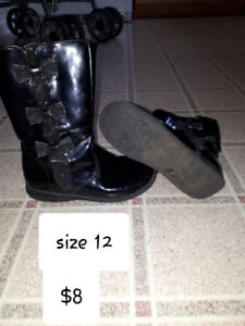 Girls size 12 boots