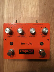 Empress Effects Tremolo Pedal