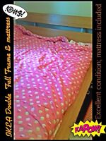 Double/Full Size Bed Frame & Mattress