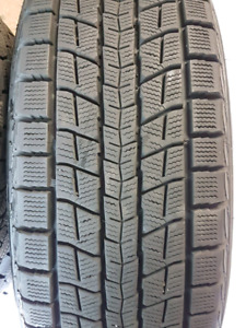 225 65 R17 Dunlop WinterMaxx SJ8 With Rims