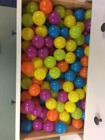Children's ball pool balls